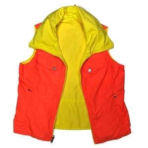 Lauren Ralph Lauren Jackets & Coats - Lauren Ralph Lauren Reversible Neon Zip Up Vest